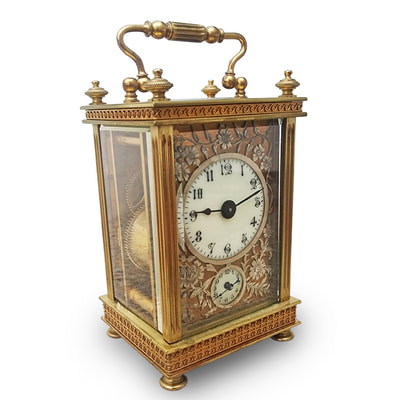 19th c. Carriage Clock