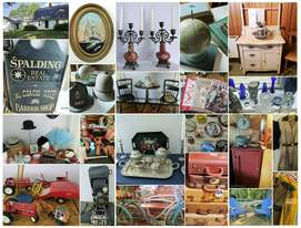 Antiques and vintage items from NHAC's June 2017 Estate Sale in Amherst, NH