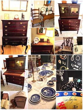 Antiques and vintage items from NHAC's February 2018 Estate Sale in Merrimack, NH