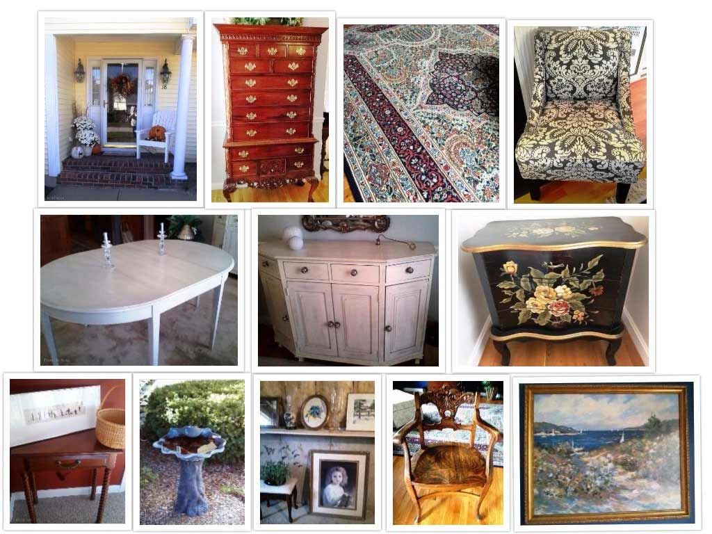 Antiques and vintage items from NHAC's October 2016 Estate Sale in Amherst, NH