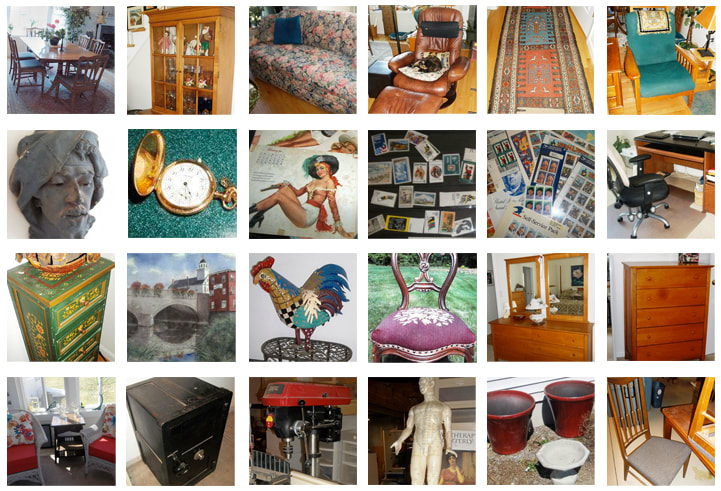 Antiques and vintage items from NHAC's April, 2016 Estate Sale in Amherst, NH