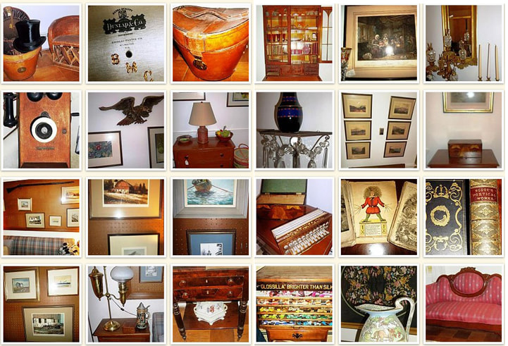 Antiques and vintage items from NHAC's April 2016 Estate Sale in Amherst, NH