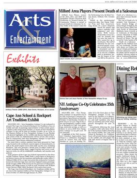 Amherst Citizen articles on NH Antique Co-op, Oct 2018 issue