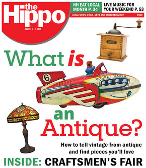 The Hippo Press cover - What is an Antique? August 2019