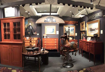 NHAC's booth at the annual NHADA Antique Show in Manchester NH