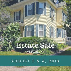 NHAC Estate Sale Aug 3&4, 2018, yellow house on Highland Ave.