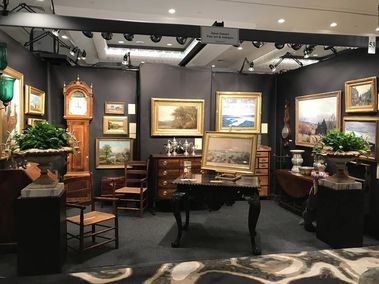 NHAC antique show booth