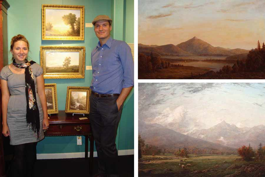 Lauren Sansaricq & Erik Koeppel at New Hampshire Antique Co-op