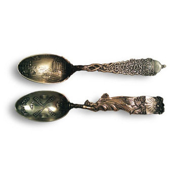 19th c. Souvenir Spoons