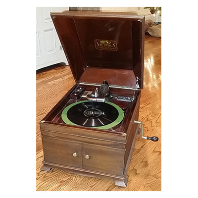 Victor-Victrola vintage record player