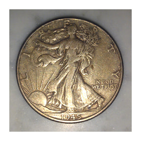 Walking Lady Liberty Coin